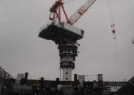 タワークレーン組立工事